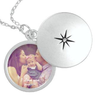 Colar Medalhão Locket da foto da lembrança da família
