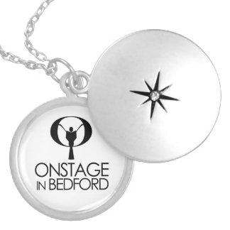 Colar Medalhão Locket EM PALCO do logotipo