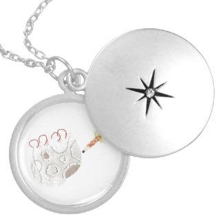 Colar Medalhão Moonpad e Locket da caneta