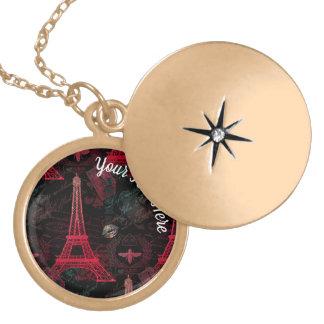 Colar Medalhão Paris: Excursão Eiffel do La
