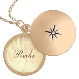 Colar Medalhão Reiki