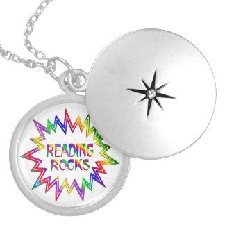 Colar Medalhão Rochas da leitura