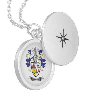 Colar Medalhão TÍTULO da brasão da crista da família    de McLean
