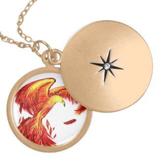 Colar Mythical do Locket de Phoenix