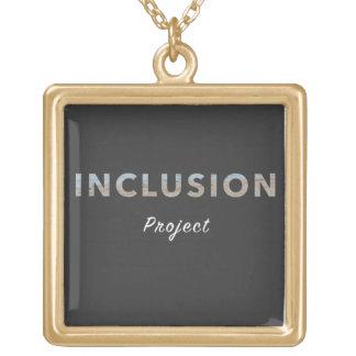 Colar positiva da mensagem - o projeto da inclusão