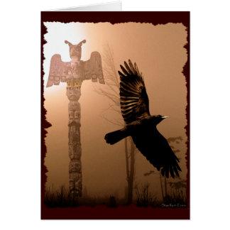 Coleção Americano-temático nativa do cartão do