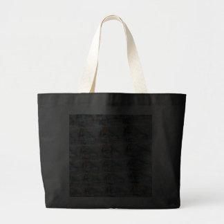 coleção da pedra preciosa da pérola 3d bolsas para compras