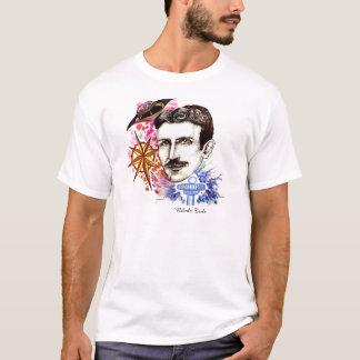 Coleção da série dos cientistas: Nikola Tesla Camiseta