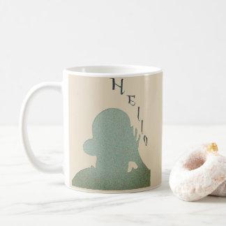 Coleção da sombra caneca de café