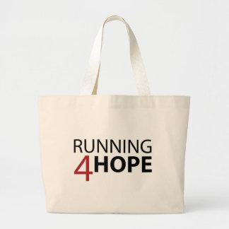 Coleção de Lançamento Running4Hope Bolsa Tote Grande