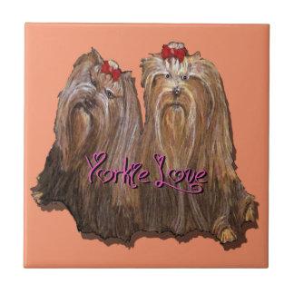 Coleção do amor de Yorkie