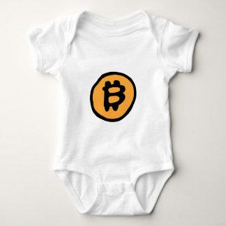 coleção do bitcoin body para bebê