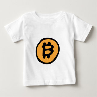 coleção do bitcoin camiseta para bebê