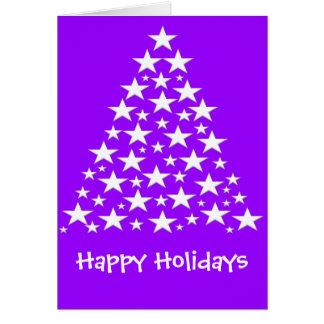 Coleção do cartão de Greating do ano novo do Natal