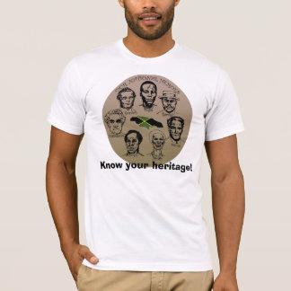 Coleção do herói de Jamaica - saiba sua herança! Camiseta