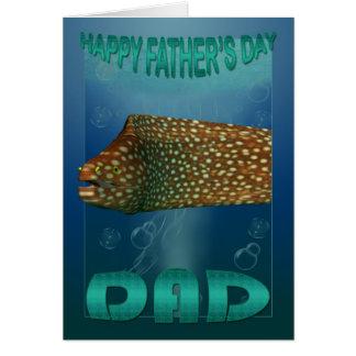 Coleção dos peixes do cartão do dia dos pais
