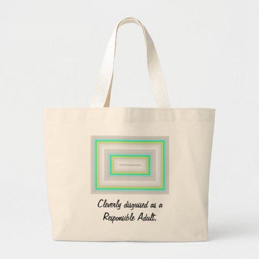 Coleção inteligente disfarçada bolsa para compras