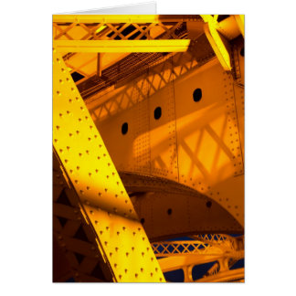 Coleção interna da ponte da torre cartão comemorativo