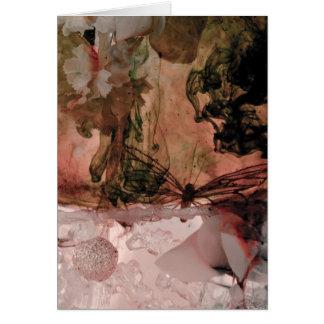 """Coleção """"orgânica"""" cartão comemorativo"""