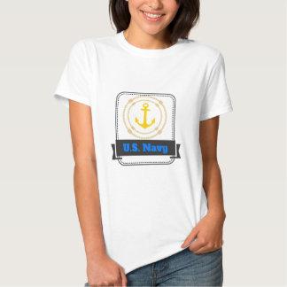 Coleção original do marinho camisetas
