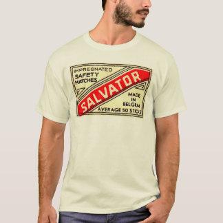 """Coleção """"Safety Matches"""" - Salvator - Bélgica Camiseta"""