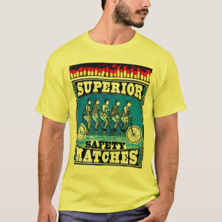 """Coleção """"Safety Matches"""" - Superior - Mod. 01 Camiseta"""