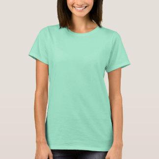 Coleção verde preta do camiseta da forma de n