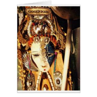coleções da arte de Aharon da imagem Cartão Comemorativo