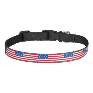 Coleira Bandeira dos Estados Unidos da bandeira dos EUA