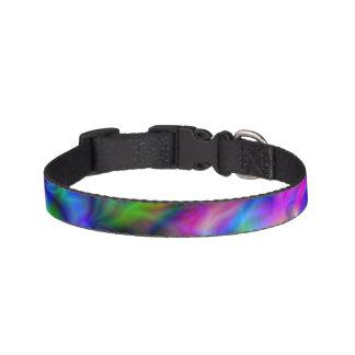 Coleira Cores abstratas do arco-íris