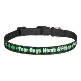 Coleira de cão personalizada de BABBS