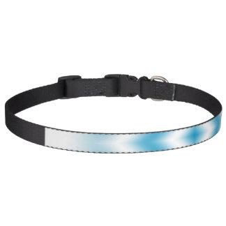 Coleira inclinação azul do diamante do Personalizar-céu