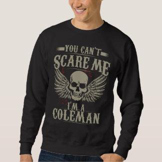 COLEMAN da equipe - Camiseta do membro de vida