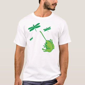 Coletor da libélula camiseta