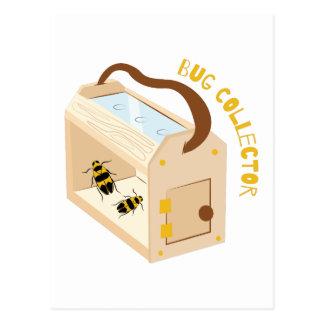 Coletor do inseto cartão postal