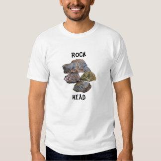 Coletores minerais principais da rocha engraçados camisetas