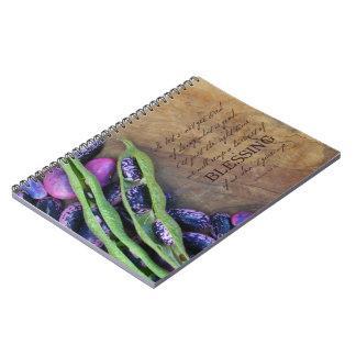 Colheita do caderno da bênção