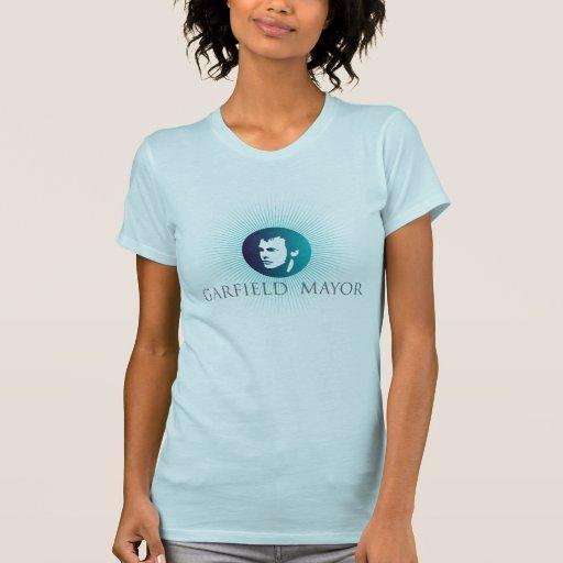 """Colher ocasional T das senhoras do Mayor """"Sun árti T-shirts"""