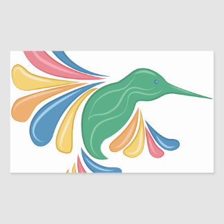Colibri Adesivo Retangular