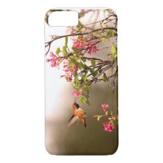 Colibri e flores capa iPhone 7