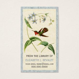 Colibri Scintillant cartões personalizados dos