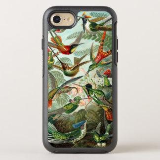 Colibris por Ernst Haeckel, árvores dos pássaros Capa Para iPhone 7 OtterBox Symmetry