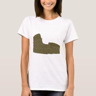 Coliseu em Roma Camiseta