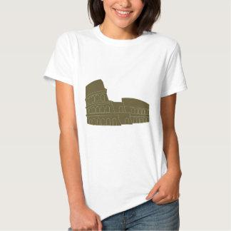 Coliseu em Roma Tshirt