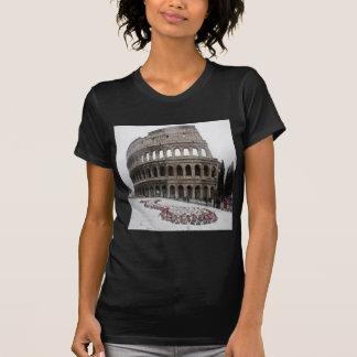 Coliseu romano camisetas
