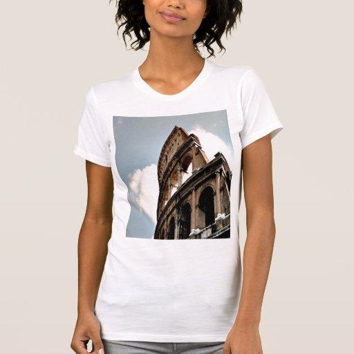 Coliseu romano camiseta regata