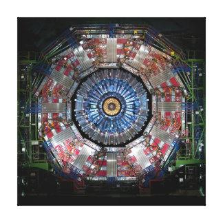 COLLIDER DO HADRON DO CERN GRANDE IMPRESSÃO DE CANVAS ESTICADAS