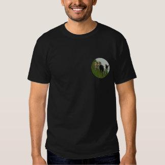 Collies de beira - Tipper/Dixie em terra Camisetas