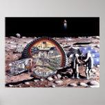 Colonização do poster da lua