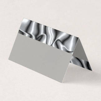 Coloque o cartão para a coleção de prata de